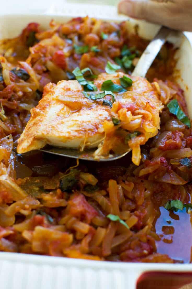 Greek baked fish