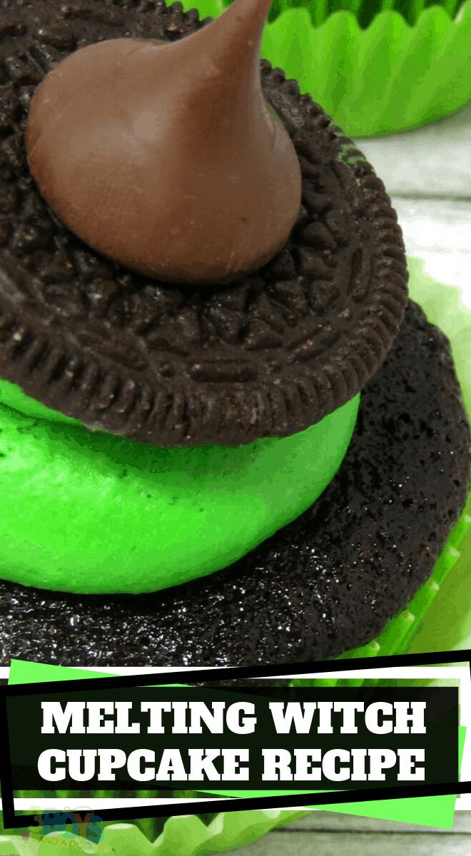 witch hat cupcake recipe