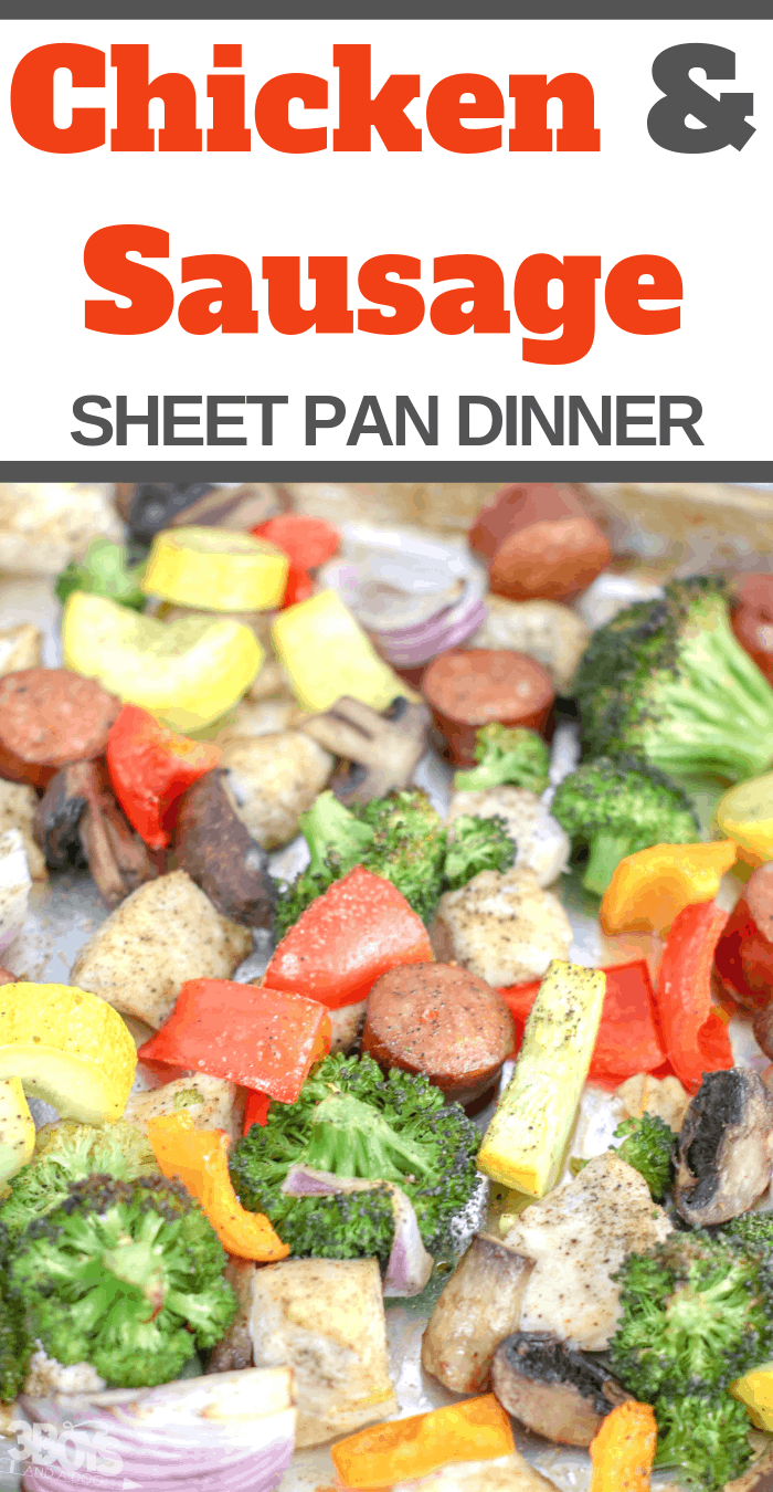 enjoy this quick easy and delicious sheet pan dinner tonight