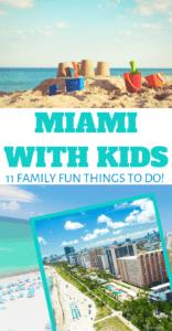 Kid Friendly Miami Florida activities