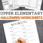 Halloween Worksheets for Upper Elementary School