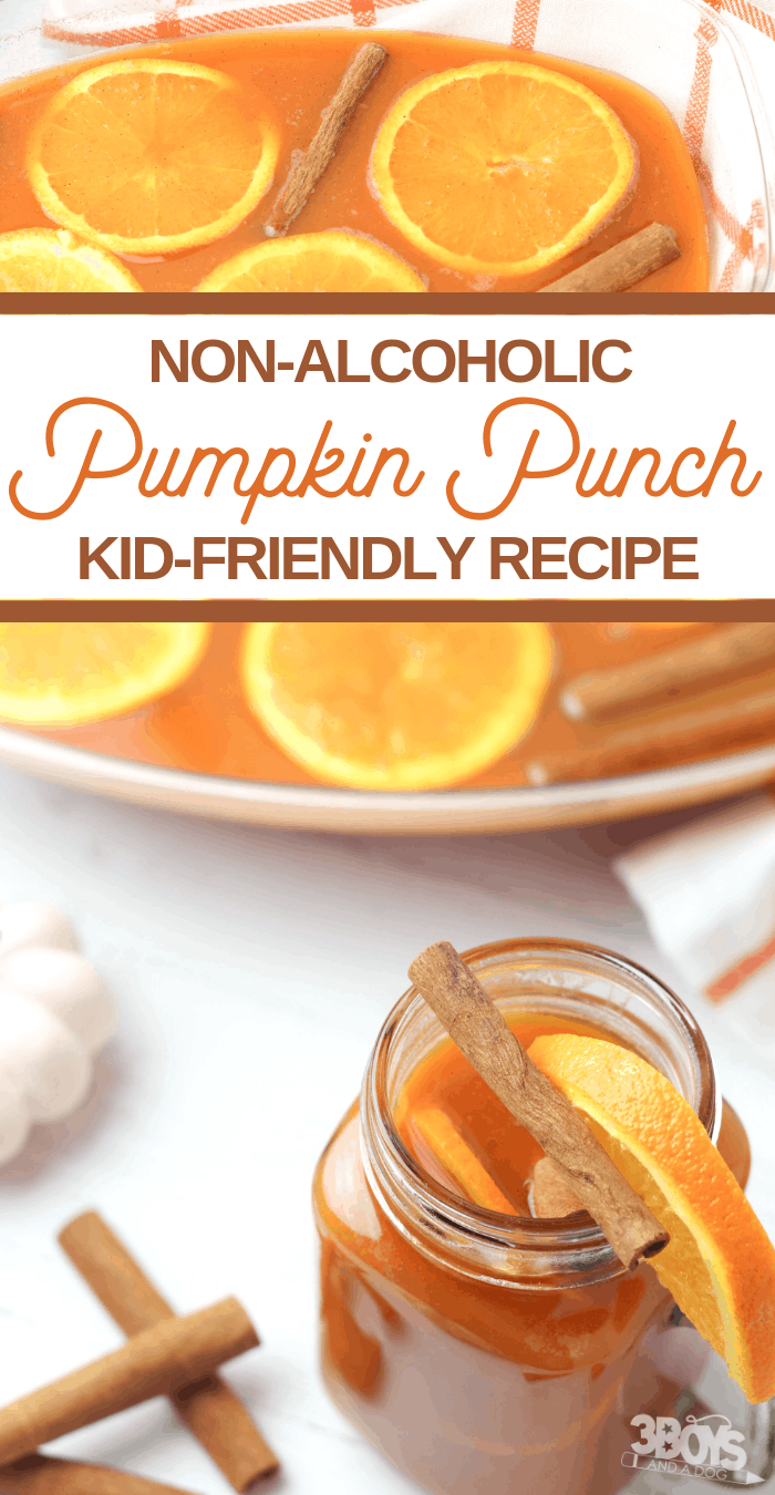 pumpkin and orange mocktail recipe