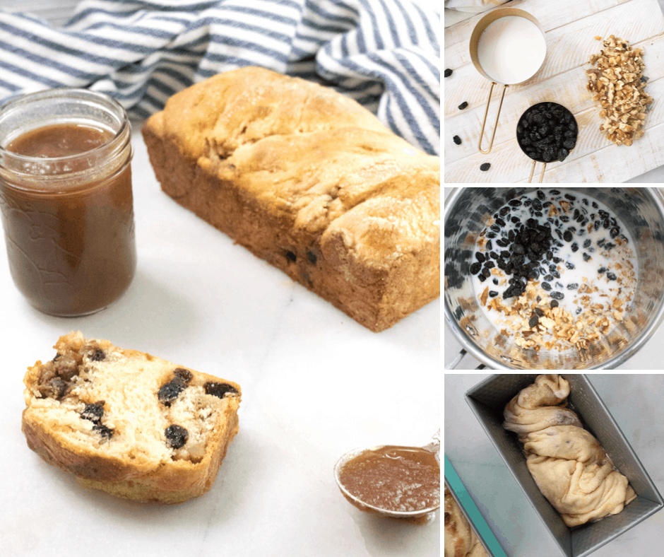 twisted apple butter coffee cake loaf recipe