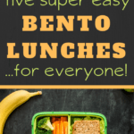 bento box recipes ideas for school lunches