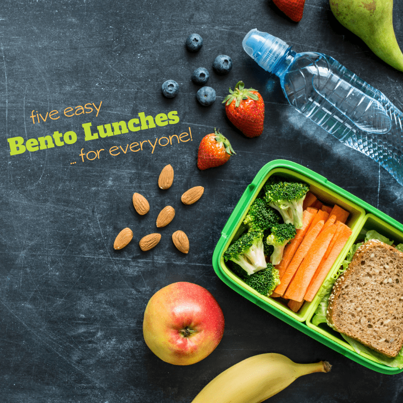 inspired bento boxes for everyone