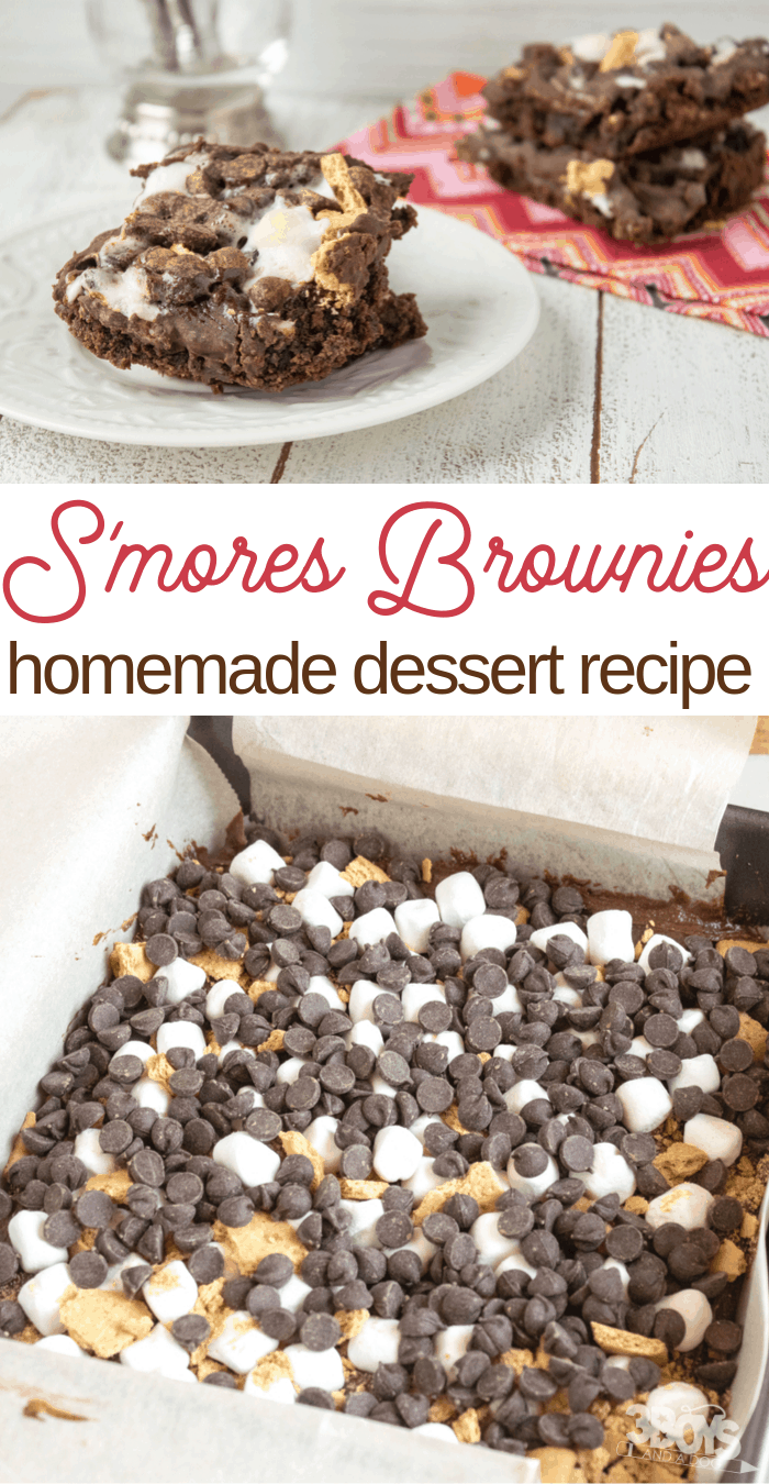 how to make brownie smores