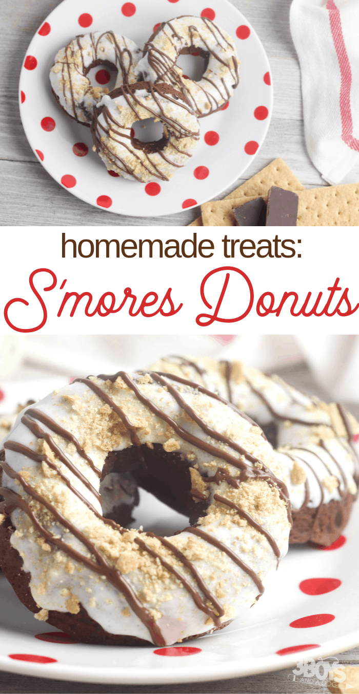 easy s'mores donuts recipe