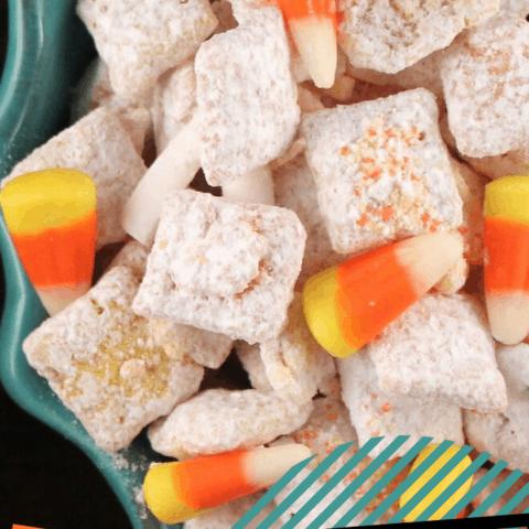 Candy Corn Muddy Buddies Recipe