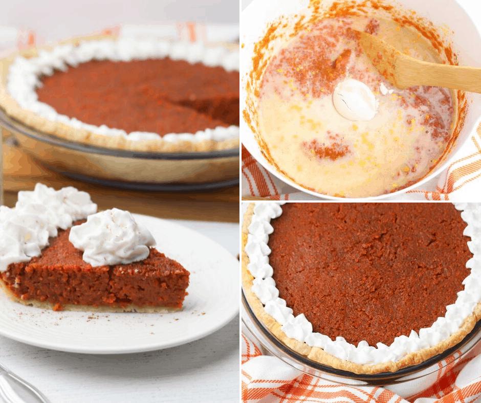 mock pumpkin pie