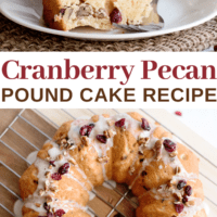 Cranberry Pecan Coffee Cake