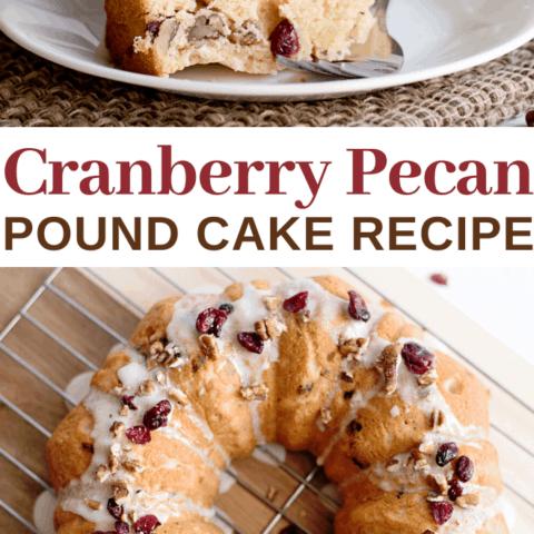 Cranberry Pecan Coffee Cake