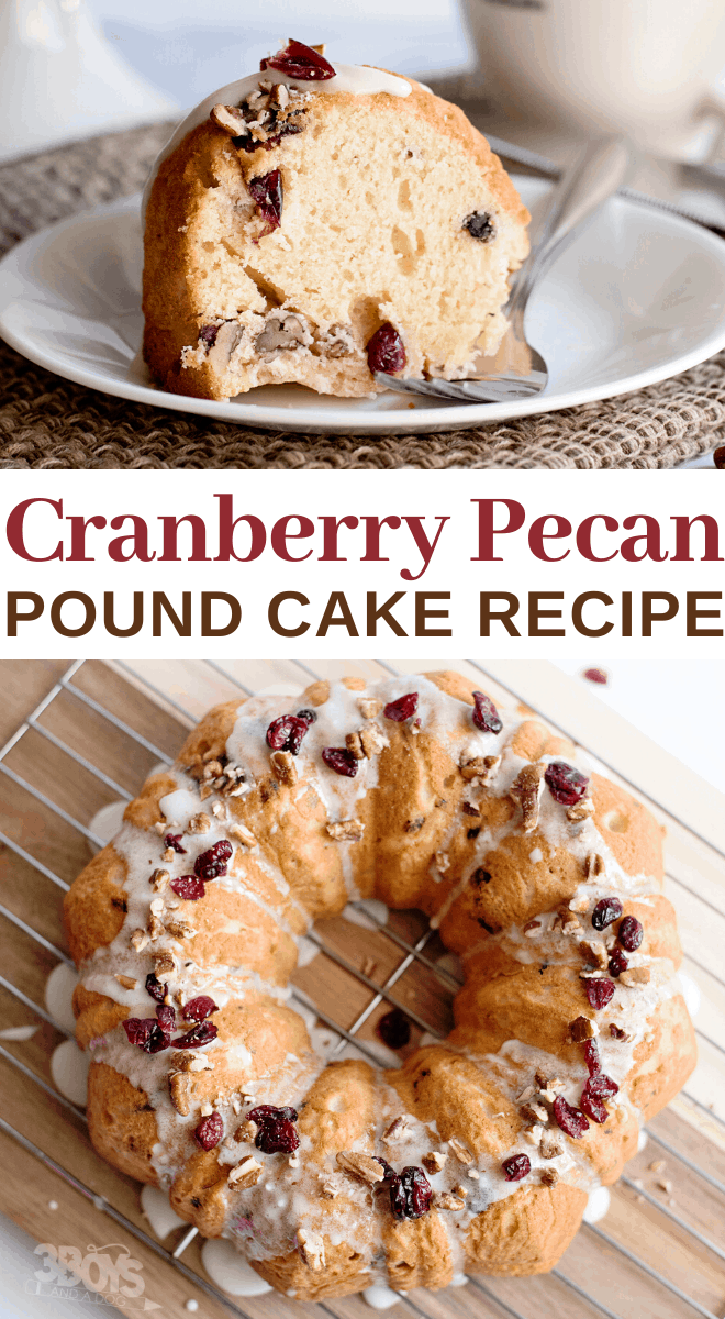 best cranberries and pecans pound cake recipe