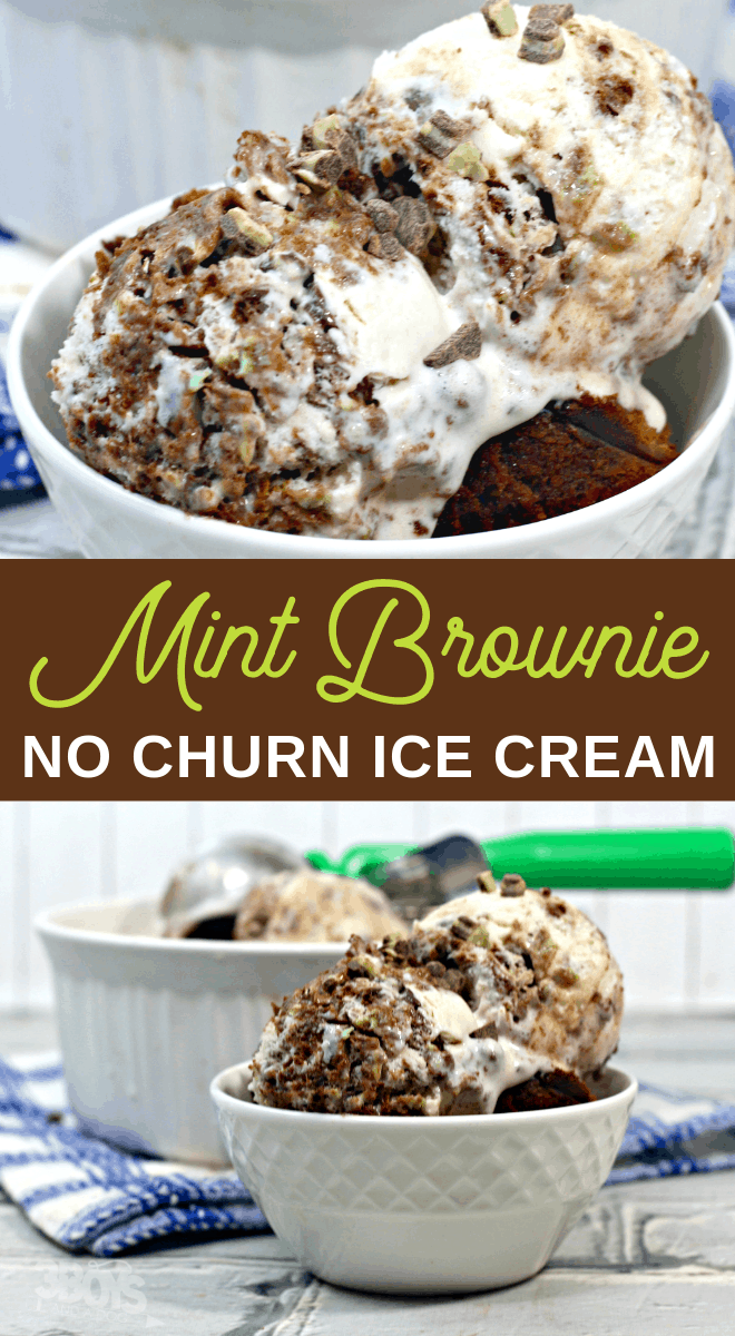 chocolate mint no churn ice cream recipe