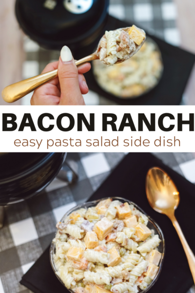 easy pasta salad with rotini noodles