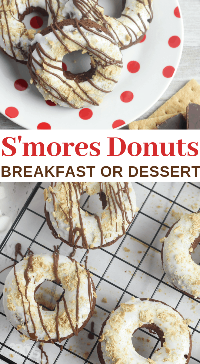 best s'mores doughnuts recipe