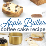 coffee cake with apple butter and walnuts recipe