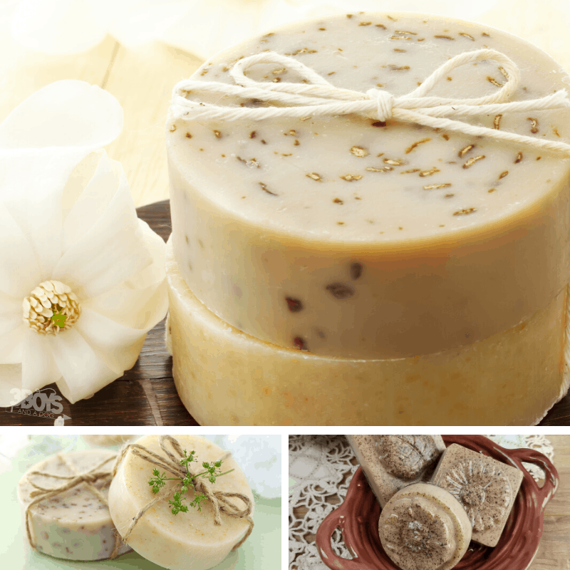 homemade soap recipes and tips