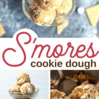 Edible S'mores Cookie Dough