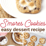 how to make cookie smores
