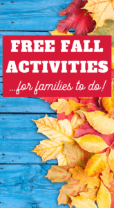 free fall activities for families to do together
