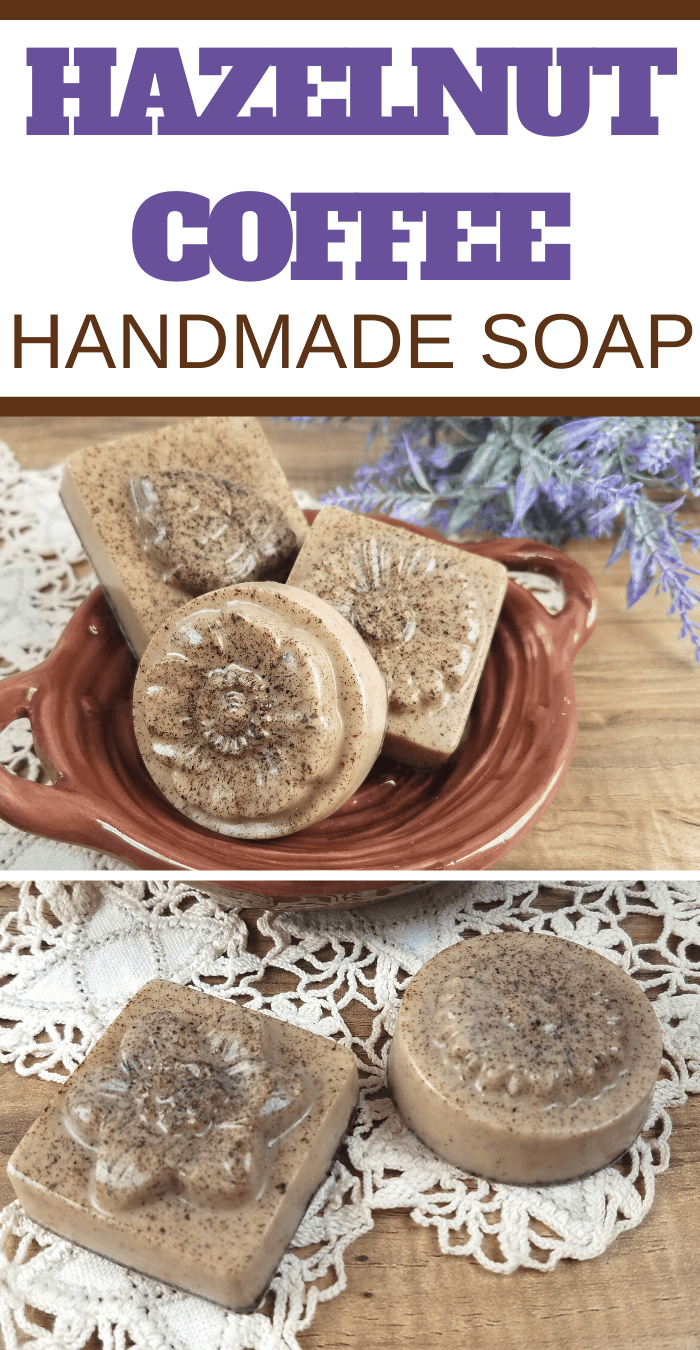 you can make this easy hazelnut coffee soap recipe