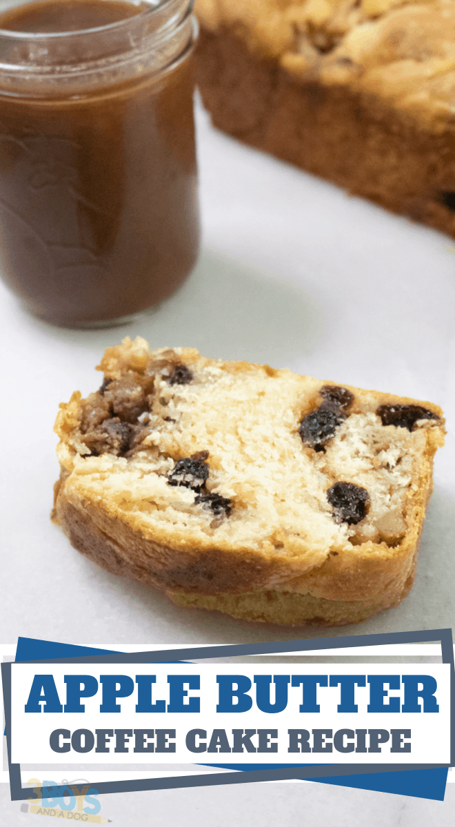 easy apple butter coffee cake recipe