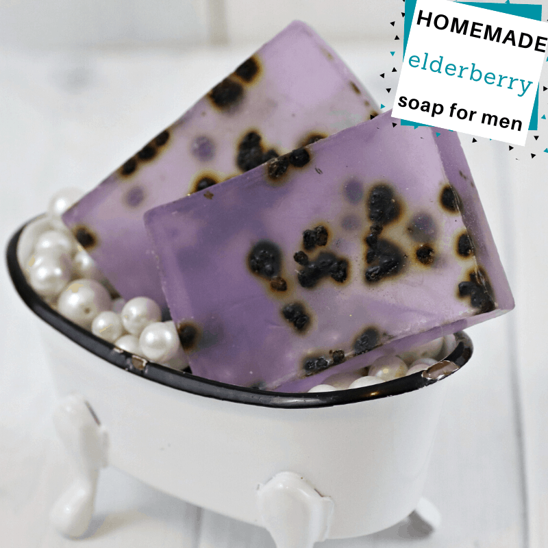 elderberry soap diy recipe