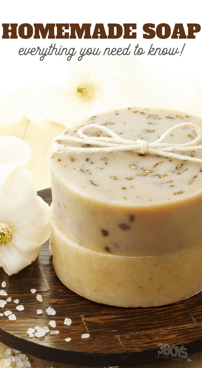 tips to help you make your own homemade soaps