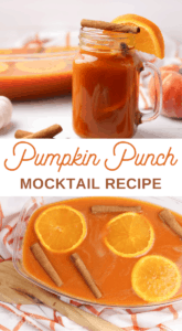 kid or pregnancy friendly Pumpkin Punch Recipe