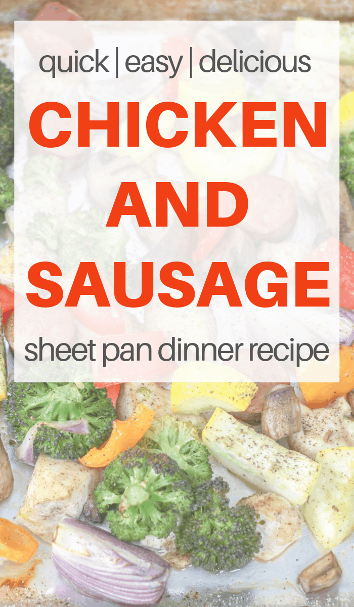 quick sheet pan meal for dinner