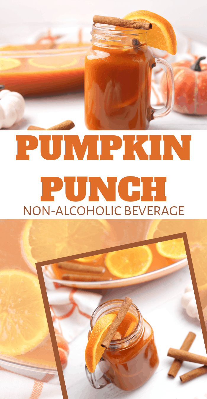 non-alcoholic pumpkin punch