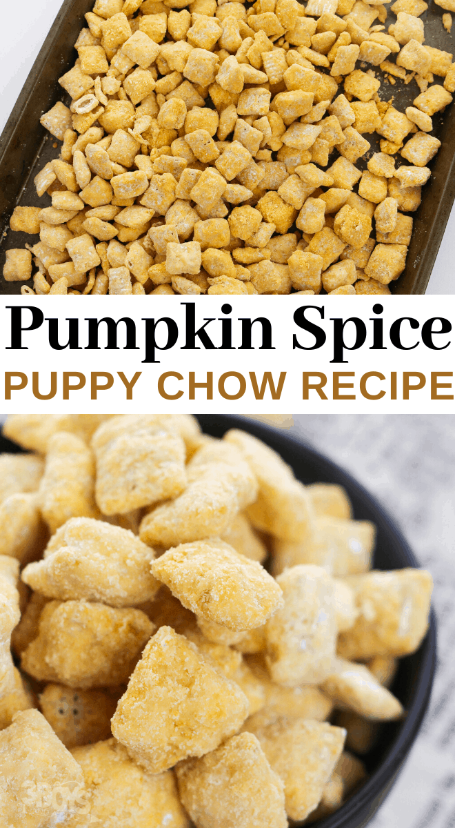 how to make pumpkin spice muddy buddies recipe
