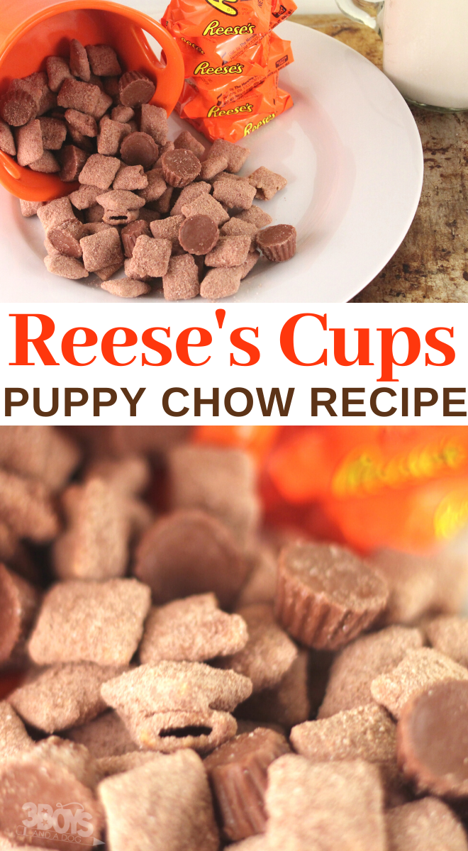 how to make delicious reese peanut butter cups muddy buddies recipe