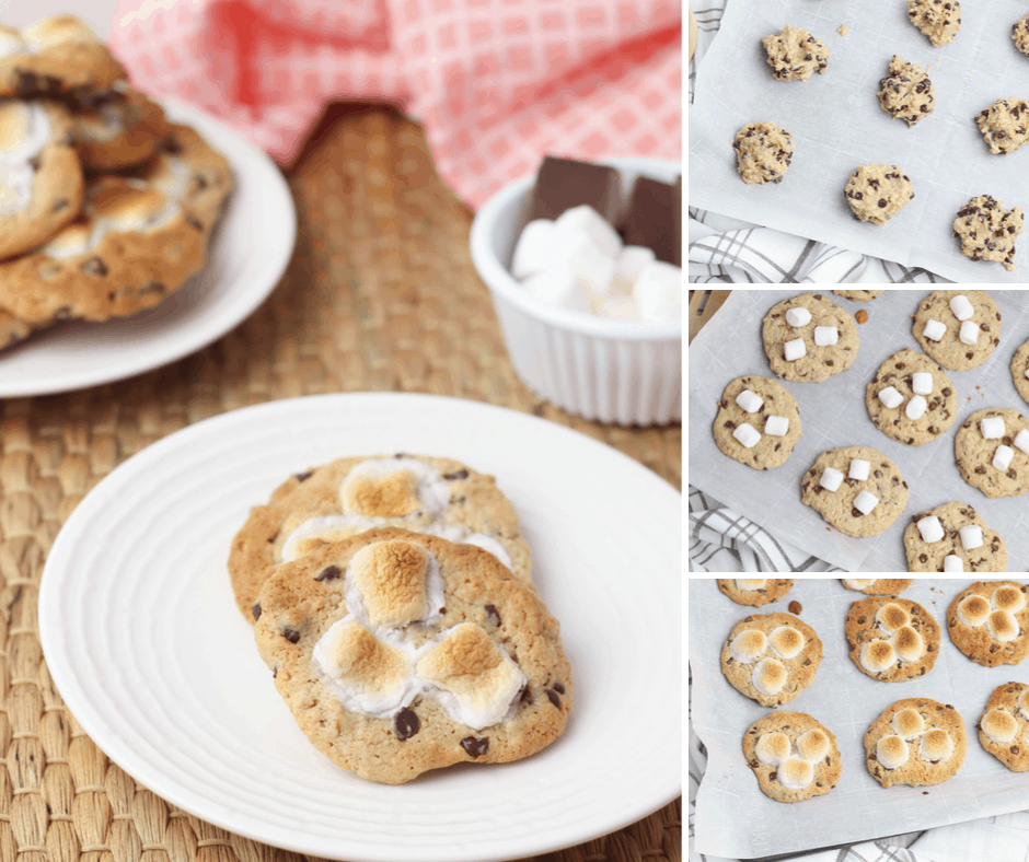 easy s'mores cookies recipe