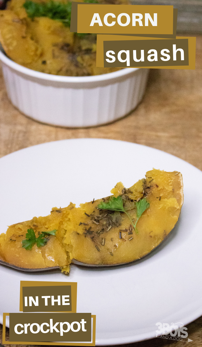 slow cooker rosemary squash recipe