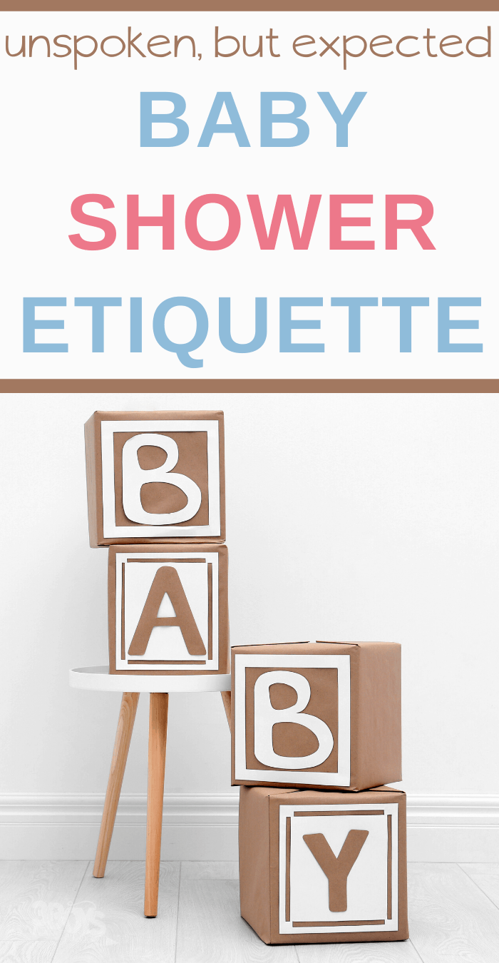 baby shower etiquette and tips