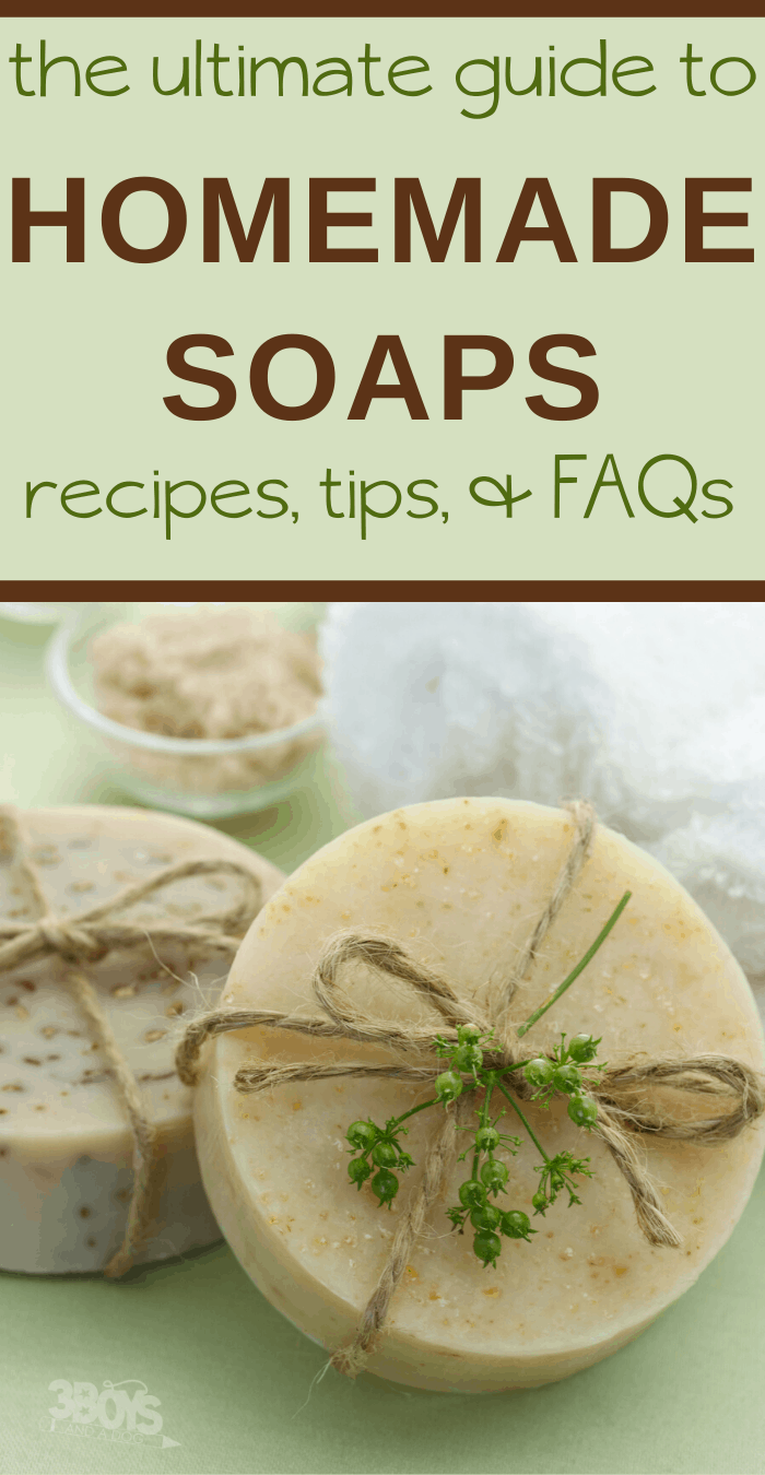 homemade soap recipes tips and tricks