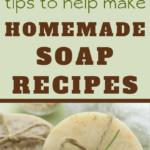 easy homemade soap recipes