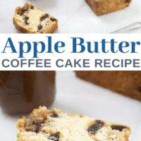 Apple Butter Walnut Coffee Cake