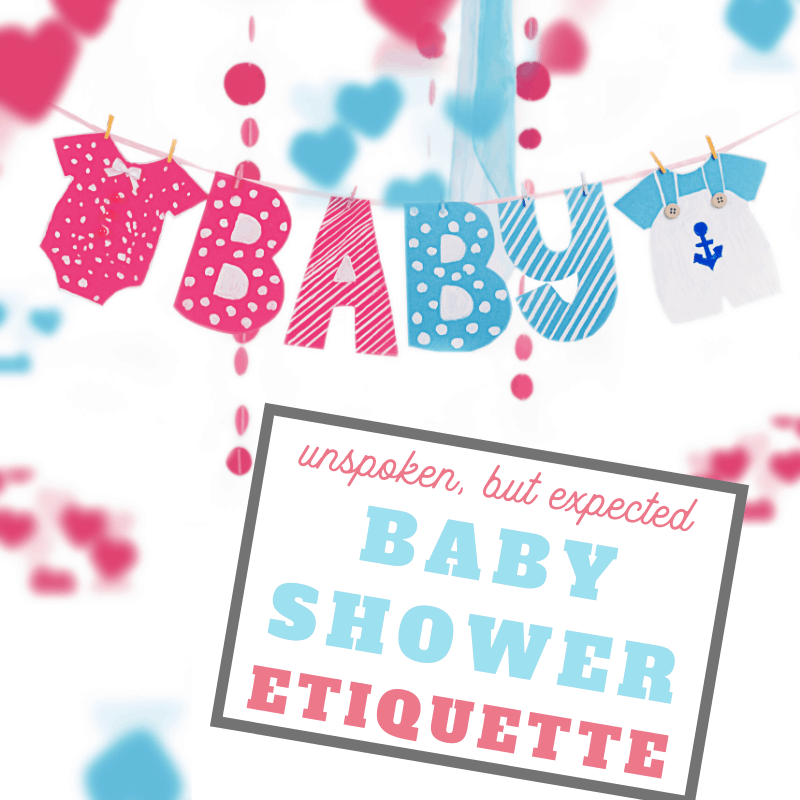 tips to help you plan or attend the best baby shower ever