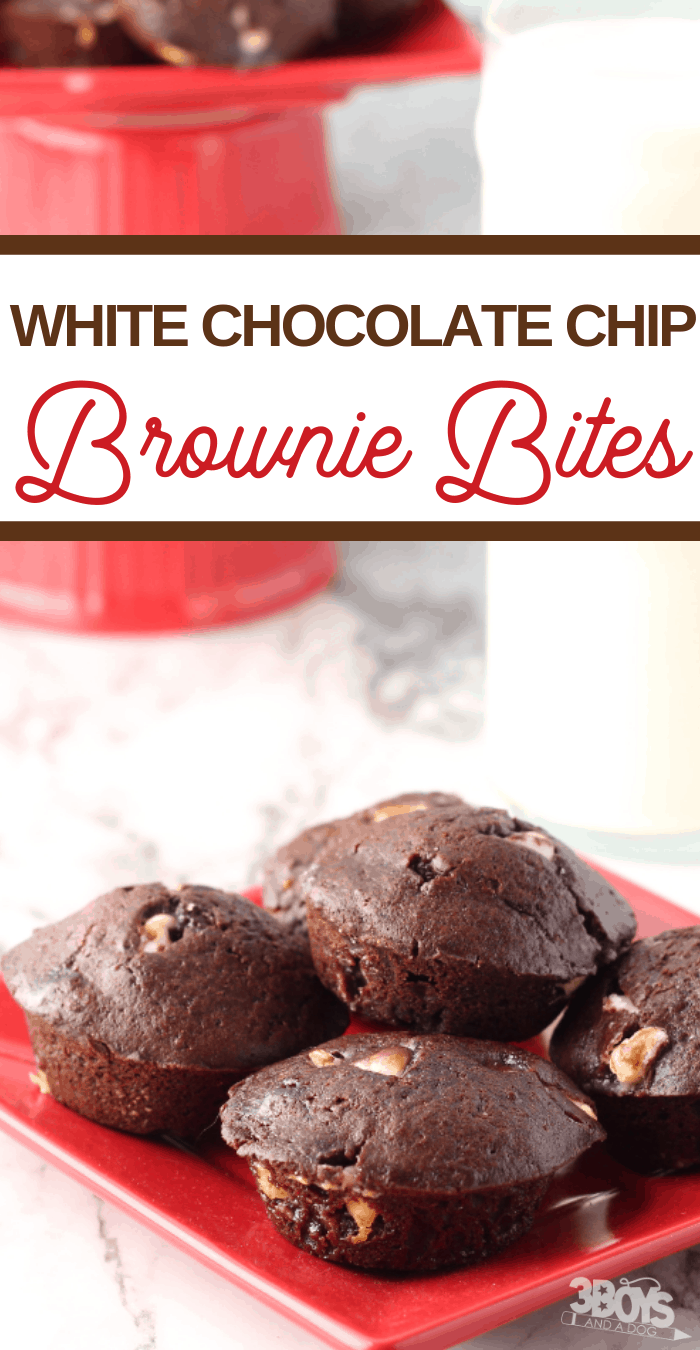 easy brownie bites recipe