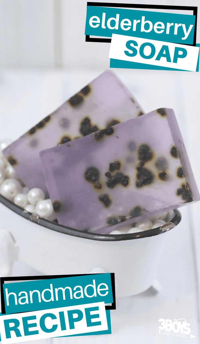 you can make this easy elderberry soap recipe (1)