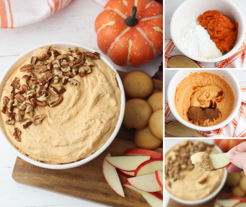 Fall Pumpkin Dip with Cream Cheese