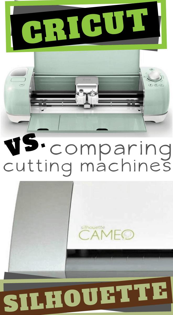 Cricut versus the Silhouette Cutting Machnes