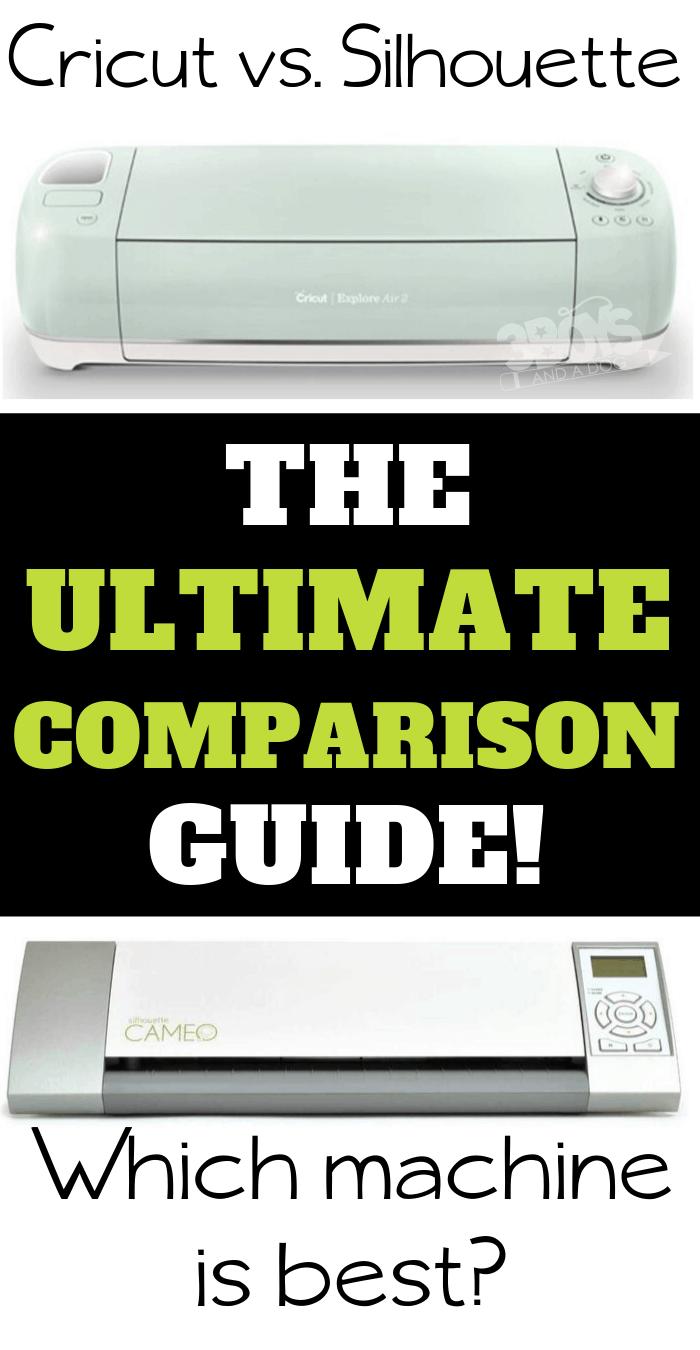 Cricut versus Silhouette the ultimate comparison guide