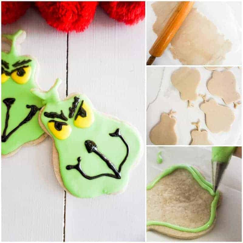 Easy Grinch cookie recipe