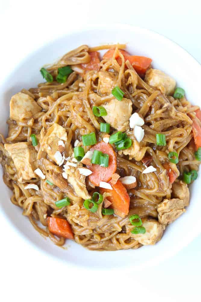 Instant Pot Asian Noodle Bowls