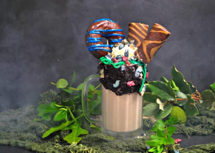 Dinosaur Milkshake Recipe