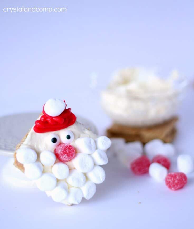 Santa No Bake Christmas Cookies