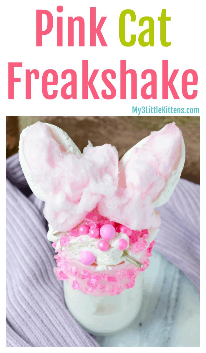 Pink Cat Freakshake